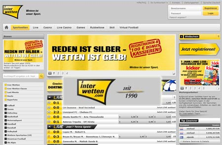 interwetten Screenshot