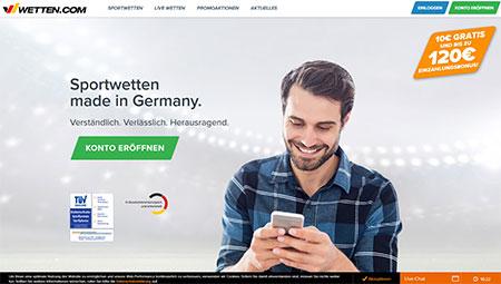 Wetten.com Screenshot